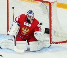 В воротах сборной России на ЧМ-2015 начнет Бобровский