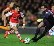«Арсенал» в гостях переиграл «Халл Сити» и остался на втором месте