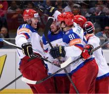 Россия лишь в овертайме обыграла Словакию