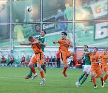 «Урал» обыграл «Томь» на ее поле в первом переходном матче
