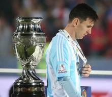 Месси: «Нет ничего более болезненного в футболе, чем проиграть в финале»