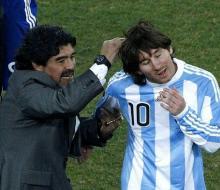 Марадона: «Я критикую Лео, чтобы он стал еще лучше»