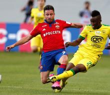 ЦСКА с минимальным счетом одолел «Анжи»