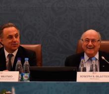 Блаттер поздравил Мутко с избранием на пост президента РФС