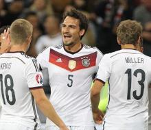 Германия обыграла Польшу в отборочном матче к ЧЕ-2016
