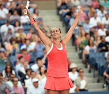Уильямс сенсационно проиграла Винчи в 1/2 финала US Open