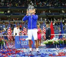 Джокович завоевал десятый титул турниров Большого шлема