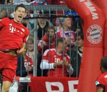 Матч «Баварии» с «Вольфсбургом» вошел в историю благодаря 5 голам Левандовски