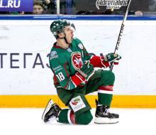 «Ак Барс» в Казани обыграл московское «Динамо»