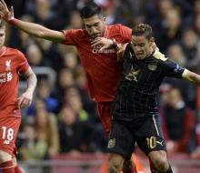«Рубин» в меньшинстве сыграл вничью с «Ливерпулем»