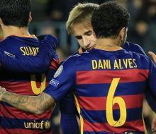 «Барселона» разгромила «Рому»