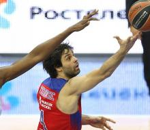 ЦСКА одолел «Динамо Сассари» и одержал шестую победу в Евролиге