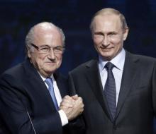 Путин считает, что Блаттер заслуживает Нобелевскую премию мира