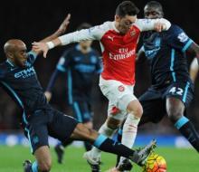 «Арсенал» обыграл «Манчестер Сити» и продолжил погоню за лидером