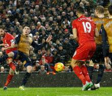 «Ливерпуль» и «Арсенал» сыграли вничью
