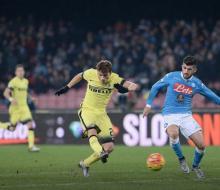 «Интер» выбил «Наполи» из Кубка Италии