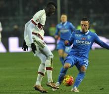«Милан» сыграл вничью с «Эмполи»