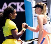 Шарапова проиграла Уильямс в 1/4 финала Australian Open