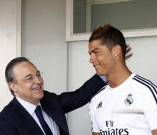 Перес: «Роналду должен играть за лучший клуб мира»