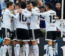 «Валенсия» вышла в 1/2 финала Кубка Испании