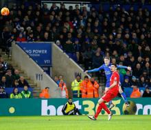 Дубль Варди принес победу «Лестеру» над «Ливерпулем»