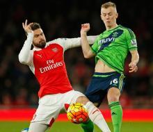 «Арсенал» потерял очки в матче с «Саутгемптоном»