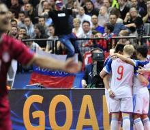 Россия вышла в финал ЧЕ по футзалу