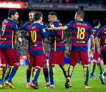 «Барселона» разгромила «Сельту», Суарес оформил хет-трик