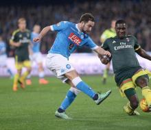 «Наполи» допустил осечку в матче с «Миланом»