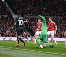 «Ливерпуль» прошел «Манчестер Юнайтед» в 1/8 финала Лиги Европы