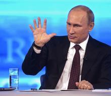 Путин на «Прямой линии» ответил на вопросы про допинговый скандал вокруг мельдон