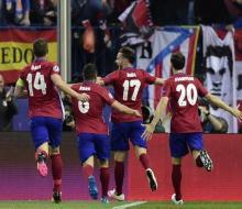 «Бавария» проиграла первый полуфинальный матч «Атлетико»