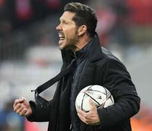 Симеоне считает, что у «Атлетико» и «Реала» шансы 50 на 50