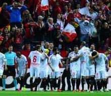 «Севилья» обыграла «Шахтер» и вышла в финал Лиги Европы