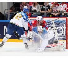 Казахстан проиграл Норвегии 2:4