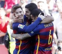 «Барселона» разгромила «Гранаду» и стала чемпионом Испании