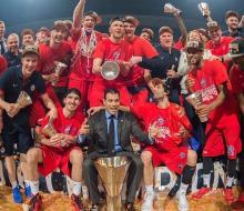 ЦСКА стал семикратным чемпионом Евролиги