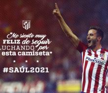 Сауль и «Атлетико» продлили контракт до 2021 года
