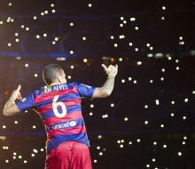 Дани Алвес решил покинуть «Барселону»