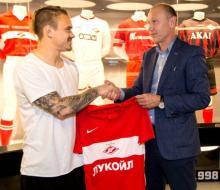 Ещенко на правах свободного агента перешел в «Спартак»