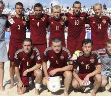 Россия обыграла Украину в 1/4 финала Кубка Европы по пляжному футболу