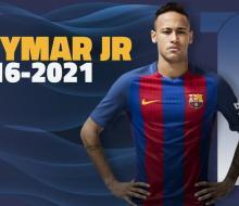 «Барселона» и Неймар продлили контракт до 2021 года