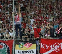 Выезд фанатов «Спартака» в Казань обернулся штрафом в 220 тысяч рублей