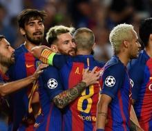 «Барселона» начала ЛЧ с разгрома «Селтика»