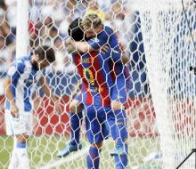 «Барселона» в гостях разгромила «Леганес»