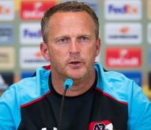 Тренер «АЗ Алкмара» считает, что у «Зенита» нет слабых сторон