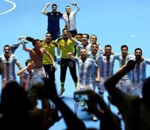 Сборная России в финале ЧМ-2016 по футзалу сыграет с Аргентиной