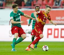 «Локомотив» на последних минутах избежал поражения от «Арсенала»