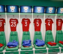 Стал известен стартовый состав сборной России на матч с Румынией