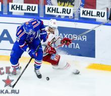 «Автомобилист» прервал 15-матчевую победную серию СКА